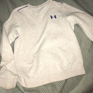 Under armour crew neck sweatshirt